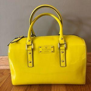 Kate Spade Flicker Melinda satchel firefly yellow